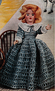 Priscilla Doll Pattern