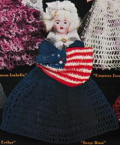 Betsy Ross Doll Pattern