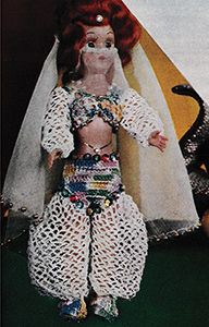 Queen of Sheba Doll Pattern