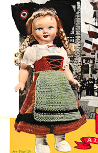 Alsace Doll Pattern