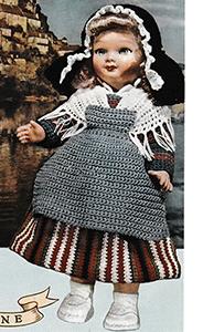 Auvergne Doll Pattern