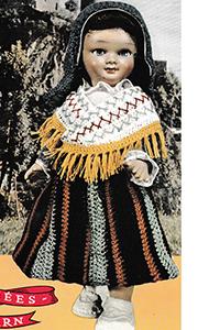 Pyrénées-Béarn Doll Pattern