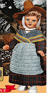 Alpes-Dauphiné Doll Pattern
