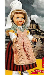 Normandie Doll Pattern