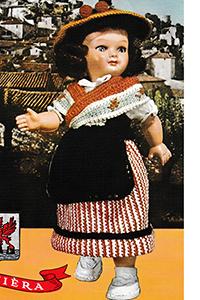 Rivièra Doll Pattern