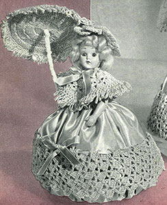 Rose Pin Cushion Doll Pattern #550