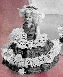 Miss April Doll Pattern #551