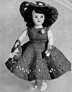 Frances Doll Pattern #553