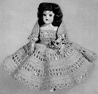 Doreen Doll Pattern #554