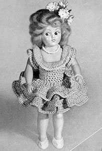 Ballerina Doll Pattern #557