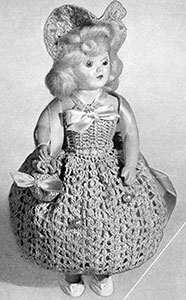 Pin Cushion Doll Pattern #561