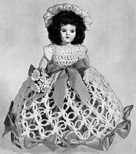 Rose Marie Doll Pattern #562