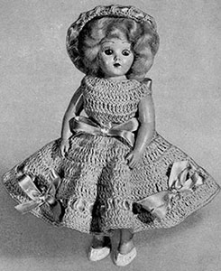 Susan Doll Pattern #565