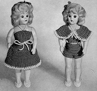 Debbie Doll Pattern #566