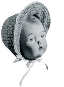 Girl's Bonnet Pattern