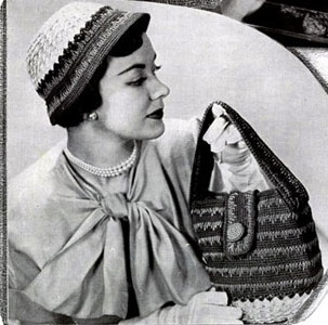 Beau Belle Hat & Bag Set Pattern