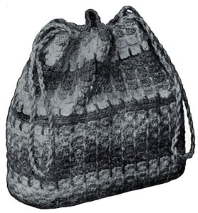 Crocheted Handbag Pattern