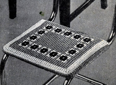 Grecian Block Seat Cover Pattern