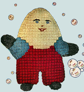 Humpty Dumpty Doll Pattern