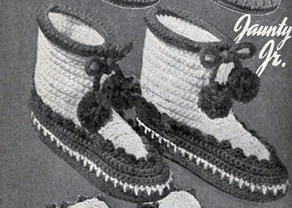Jaunty Junior Boots Pattern