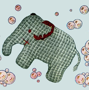 Jumbo Elephant Toy Pattern