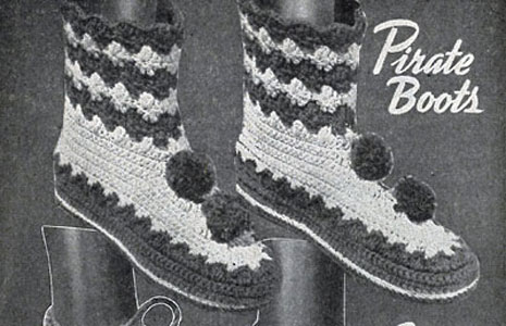 Pirate Boots Pattern