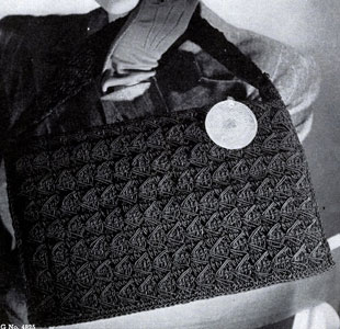 Cordet Bag Pattern No. 4825