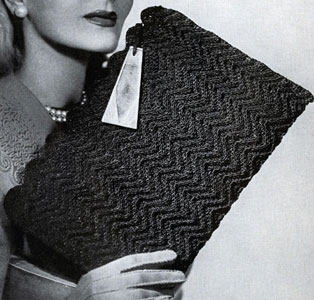Cordet Bag Pattern No. 4826