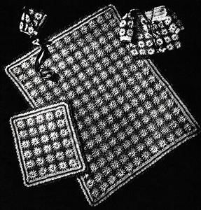 Baby's Four-Piece Daisy Set Pattern #6019