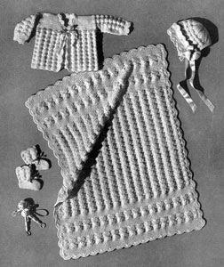 Shell Stitch Set Pattern