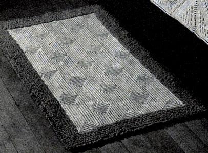 Contoured Crochet Rug Pattern