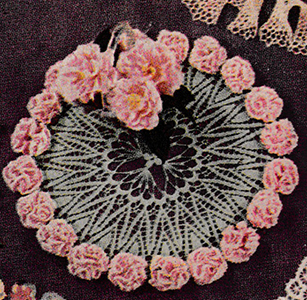 Carnation Lei Doily Pattern #3