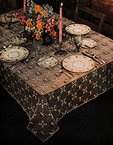Sweet Springtime Tablecloth Pattern #7