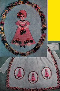 Three Little Maids Apron Pattern #8