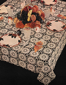 Thanksgiving Hospitality Tablecloth Pattern #8