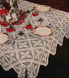 Christmas Cheer Tablecloth Pattern #9