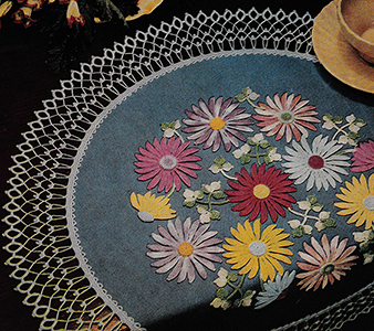 Flower Show Table Doily Pattern #1