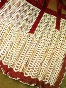 Crocheted Apron Pattern