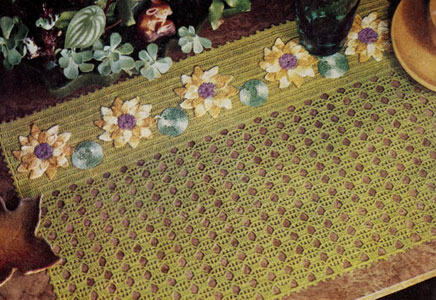 Water Lily Place Mat Pattern