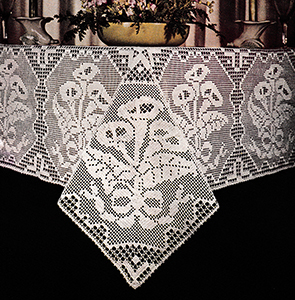 Filet Tablecloth Pattern #2
