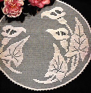 Filet Doily Pattern #3