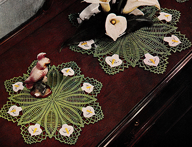 Calla Lily Buffet Set Pattern #5