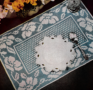 Rose Garland Doily Pattern #4