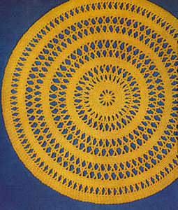 Straw Doily Pattern