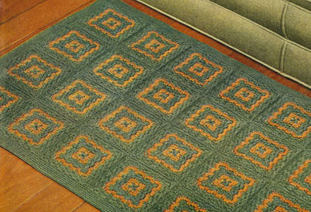 Crocheted Rug Pattern