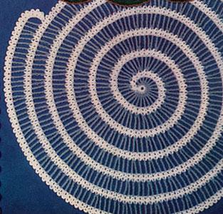 Spiral Place Mat Pattern