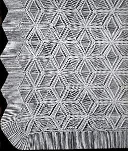 Pinwheel Popcorn Bedspread Pattern