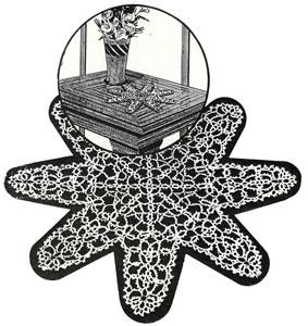 Starfish Doily Pattern