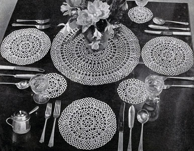 Luncheon for Four Pattern