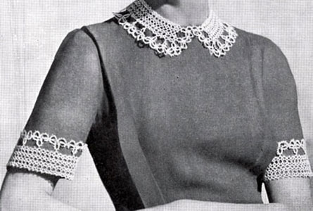 Collar and Cuffs Pattern